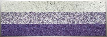 Glaszone Element Stufe 40 opal violett