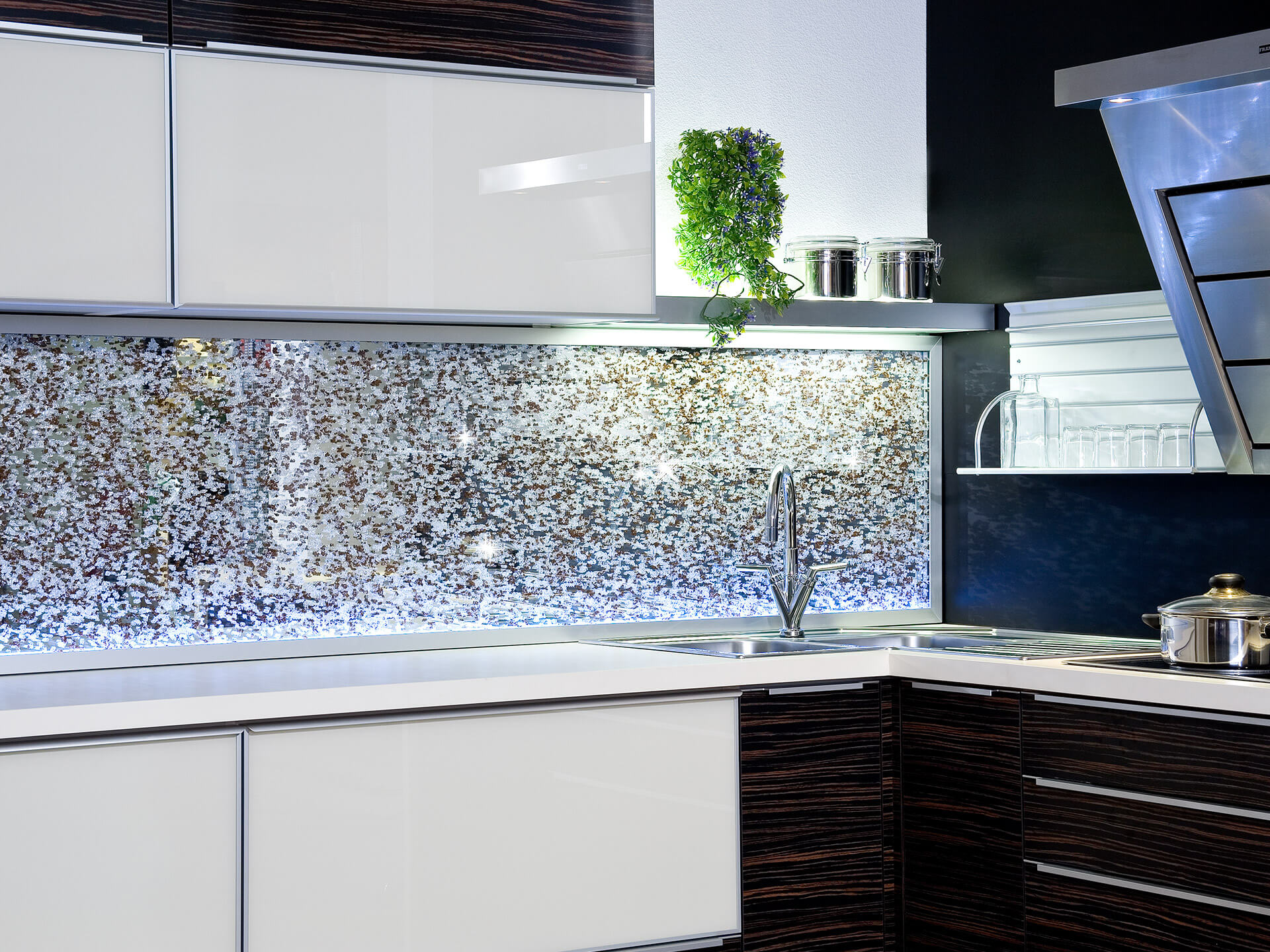 Glaszone Glass Kitchen Splashback